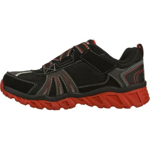 Boys' Skechers S Lights Pillar Black/Red