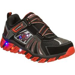 Boys&#39; Skechers S Lights Pillar Black/Red