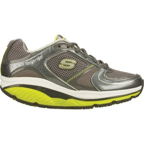 Women's Skechers Shape Ups S2 Lite Charcoal/Lime