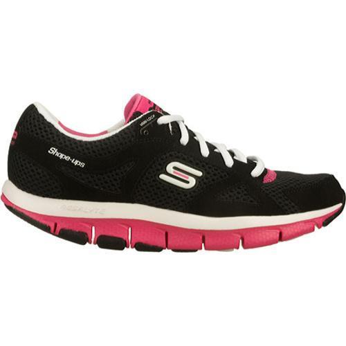 Women's Skechers Shape Ups Liv Black/Pink