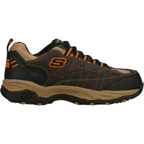 Men's Skechers Work Canyon Hobby Brown/Orange