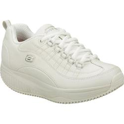 Women's Skechers Shape Ups X Wear Slip Resistant Register White