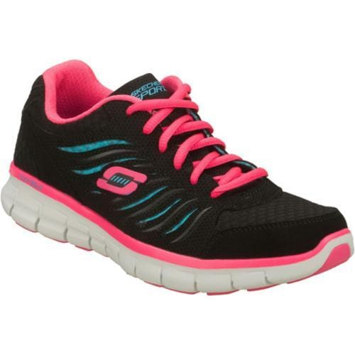 Women's Skechers Synergy Black/Blue