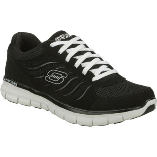 Men's Skechers Synergy Black/White
