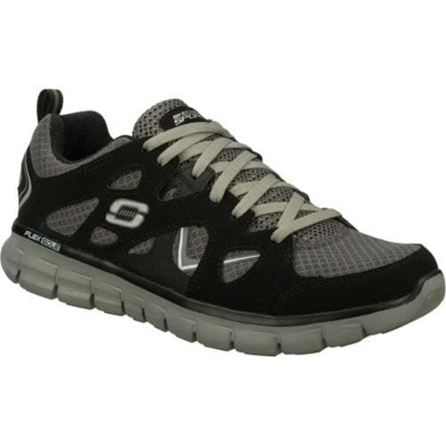 Men's Skechers Synergy Gridiron Black/Gray