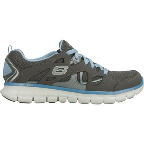 Women's Skechers Synergy Ultimatum Gray/Blue