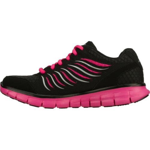 Women's Skechers Synergy Black/Pink