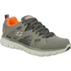 Men&#39;s Skechers Synergy Gridiron Gray/Orange