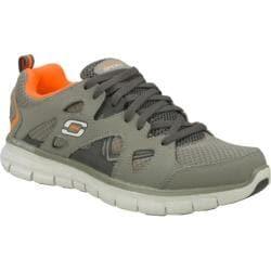 Men's Skechers Synergy Gridiron Gray/Orange