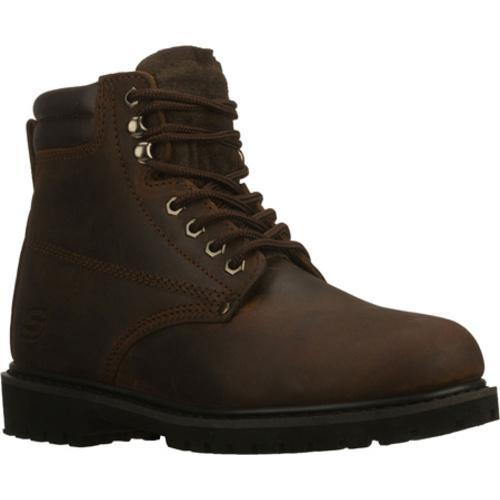 Men's Skechers Work Foreman Storm Brown