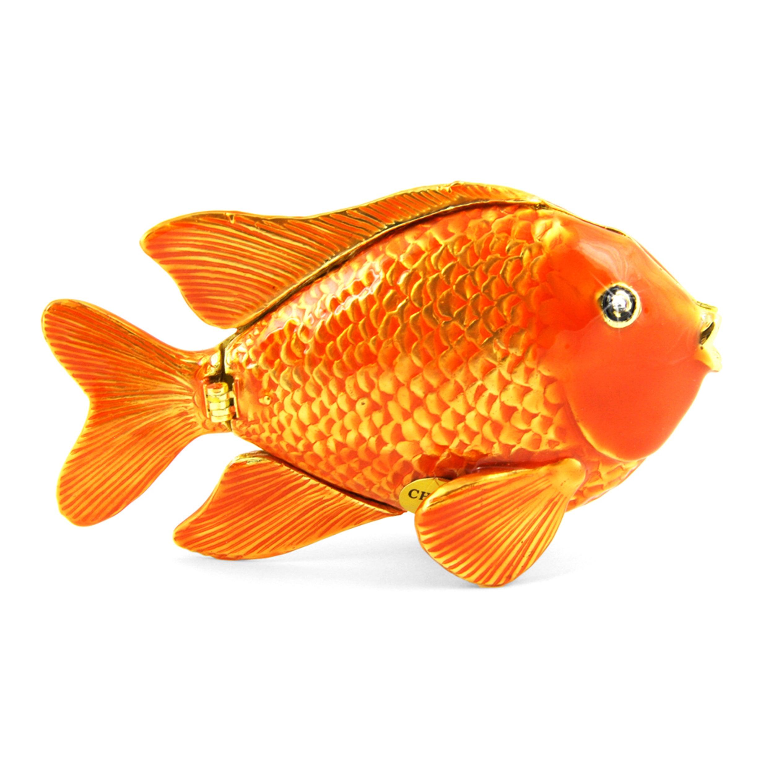 Objet d'art 'Garibaldi' Fish Trinket Box