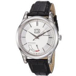 Carl F. Bucherer Men's 'Manero' Silver Dial Power Reserve Watch