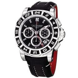 Carl F. Bucherer Men's 'Patravi' Black Dial Automatic Watch