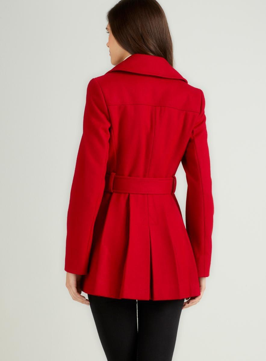 Via Spiga Double Coat With Belt