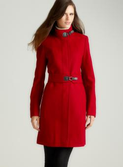 Via Spiga Coat With Standard Collar