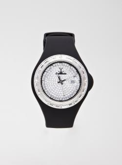 Toy Ladies Toy Pave Jelly Watch