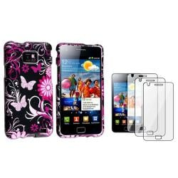 Butterfly Case/ Screen Protector for Samsung Galaxy S II i9100