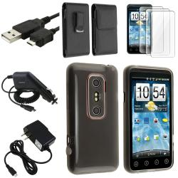 TPU Case/ Leather Case/ Chargers/ USB Cable/ Protector for HTC EVO 3D
