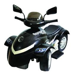 New Star Cyclone Black 6 Volt Ride On