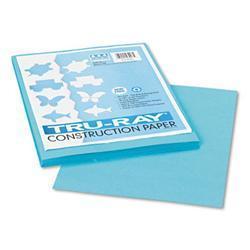 Pacon Tru-Ray Construction Paper- 76 lbs.- 9 x