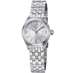 Tissot Women's 'T-One' Silver Dial Stainless Steel Automatic Watch