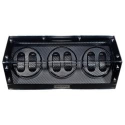 Steinhausen 4-mode Black Lacquer Coated Wood Six Watch Winder
