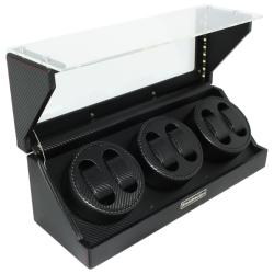 Steinhausen 4-mode Polyurethane Leather Six Watch Winder