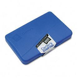 Avery Micropore Stamp Pad 4.25w x 2.75d Blue
