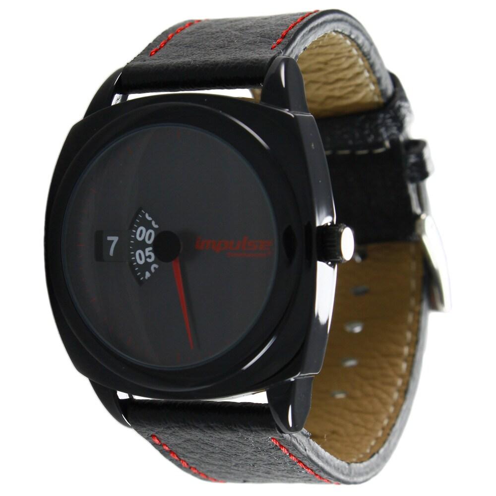 Steinhausen Impulse Mens Metal Rotary Dial Black Dial Watch