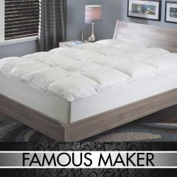 Famous Maker Even Support Baffle Box Gusseted Edge Fiber Bed