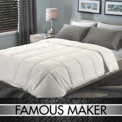 Famous Maker Signature EuroBox Stitch Down-alternative Comforter