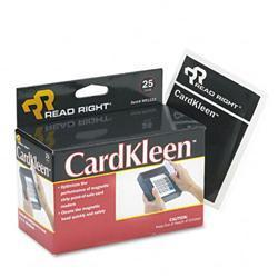 Read Right CardKleen Presaturated Magnetic Head