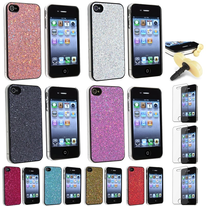 Cases/ LCD Protector/ Headset Dust Cap/ Pouch for Apple iPhone 4/ 4S