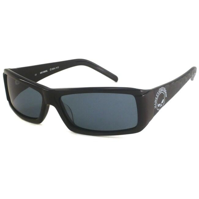 Harley Davidson Men's HDX806 Rectangular Sunglasses