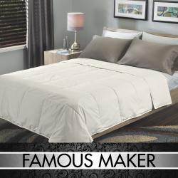 Famous Maker Prestige Comfort Natural White Down Comforter