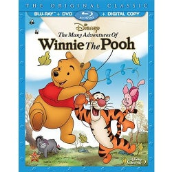 The Many Adventures Of Winnie The Pooh (Special Edition) (Blu-ray/DVD)