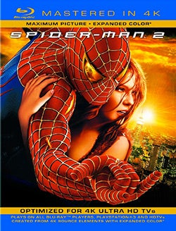 Spider-Man 2 (4K-Mastered) (Blu-ray Disc)