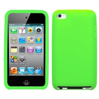BasAcc Electric Green Case for Apple iPod Touch 4th Generation