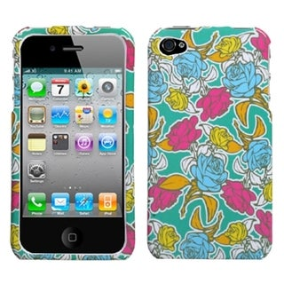 BasAcc Rose Garden Case for Apple iPhone 4/ 4S