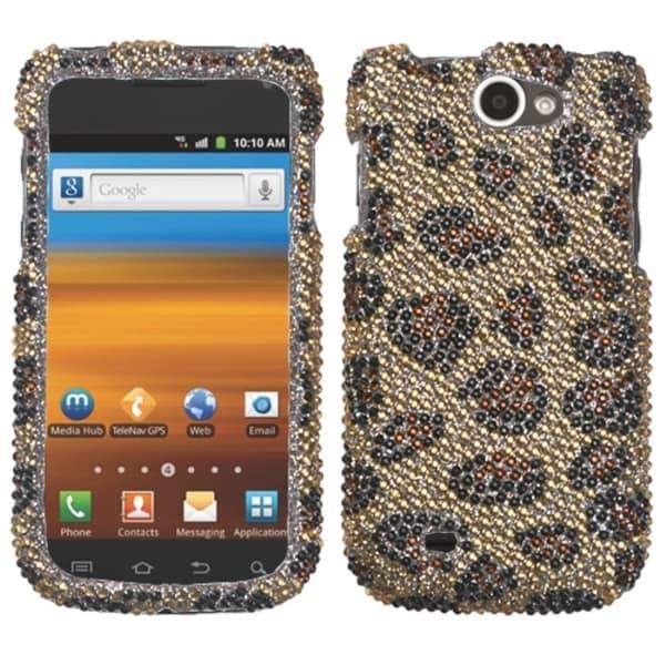INSTEN Leopard/ Camel Diamante Phone Case Cover for Samsung T679 Exhibit II 4G
