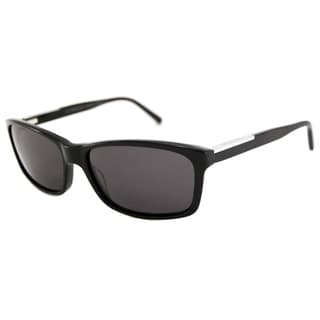 Michael Kors Men's MKS696 Davenport Rectangular Sunglasses