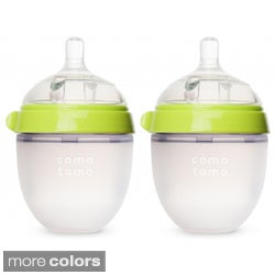 Comotomo Natural Feel 5-ounce Baby Bottles (Pack of 2)