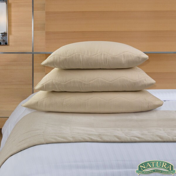 Natura Granulated Latex Aloe Infused Pillow