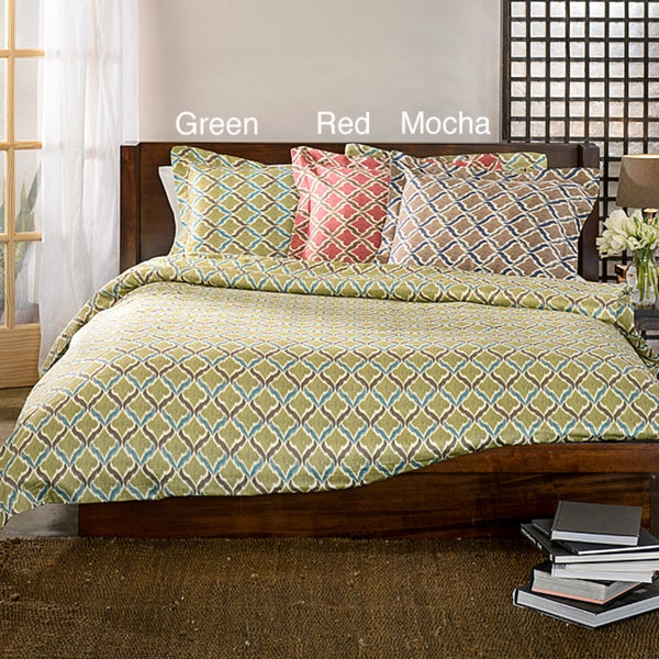 Turino Print 3-piece Duvet Cover Set
