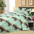 Poppy Microplush Blanket and 2 Piece Sham Set