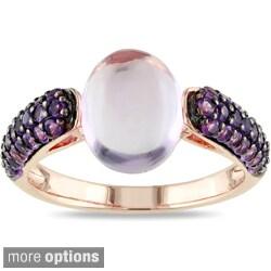 Miadora Sterling Silver Gemstone Ring