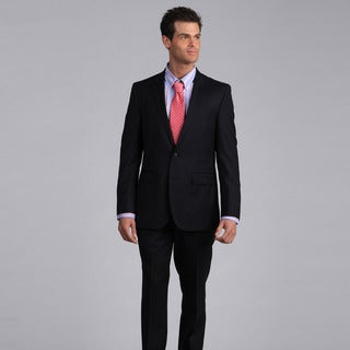 Ike by Ike Behar Men's Luxury Navy Suit