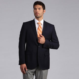 Ike by Ike Behar Men's Luxury Navy Blazer