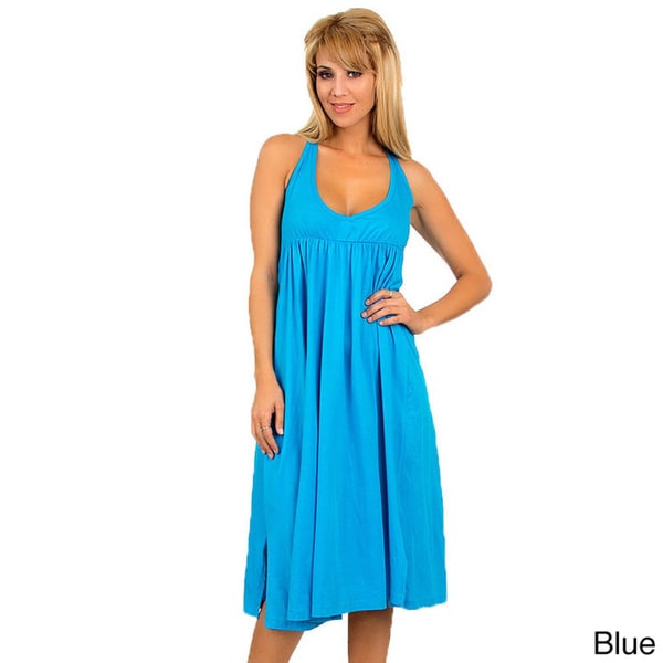 Stanzino Women's Knee-length Swim Cover-Up