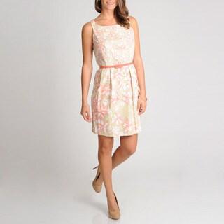 Women's Cotton Printed Shift Dress